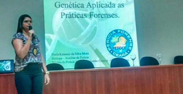 Curso de Biomedicina realiza palestra