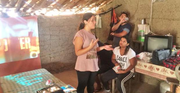 Cajup Sitiá realiza ação de educação popular com as comunidades do Escondido e do Cafundó