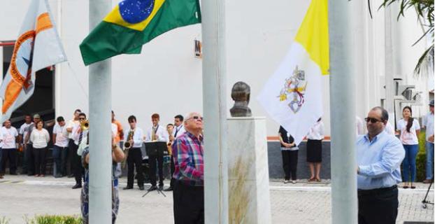 FCRS realiza momento cívico em comemoração ao Dia da Independência do Brasil