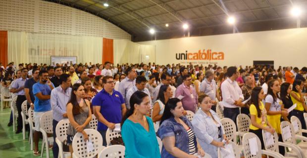 Ato solene de lançamento oficial da UNICATÓLICA