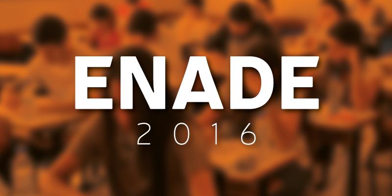 Inscrições – ENADE 2016