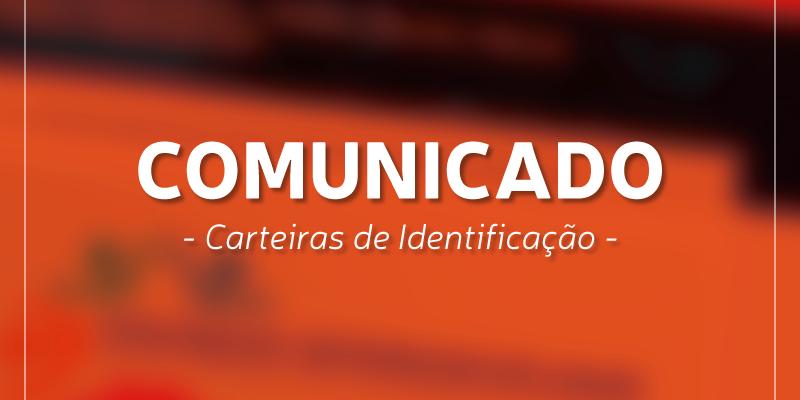 Comunicado – Carteiras de Indentificação UNICATÓLICA