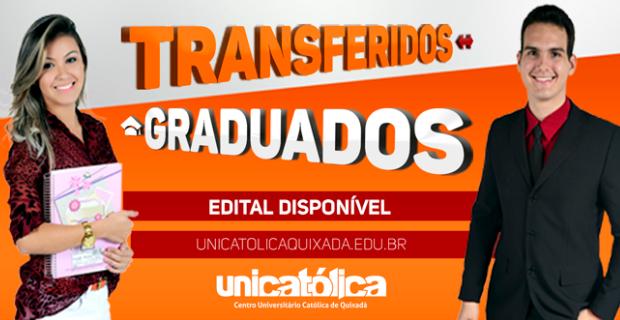 UNICATÓLICA realiza seleção para Transferidos e Graduados