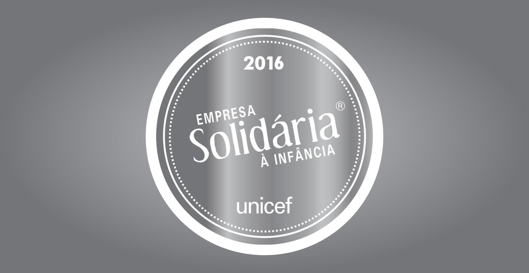 UNICATÓLICA CONQUISTA SELO UNICEF