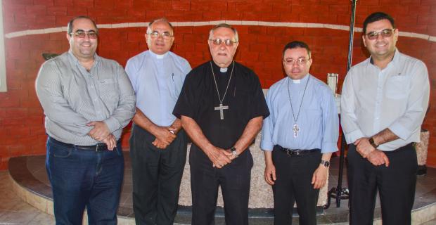 Bispo de Cajazeiras visita a UNICATÓLICA