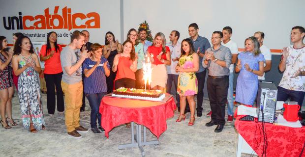 UNICATÓLICA parabeniza os aniversariantes de dezembro