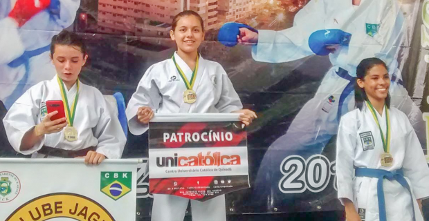 Atleta conquista Ouro no Torneio dos Campeões