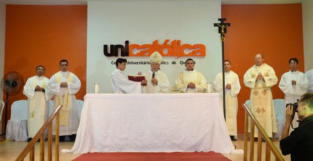 Celebração da Missa de Colação de Grau 2016.2