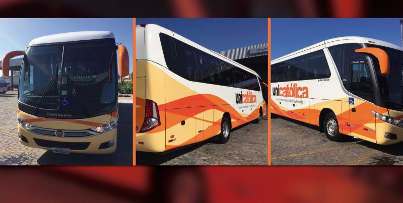 Participe da carreata de chegada do ônibus da UNICATÓLICA!
