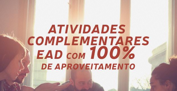 Os Cursos de Extensão EAD da UNICATÓLICA passam a valer 100% da carga horária para atividades complementares