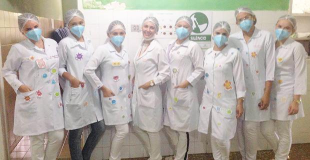 Alunas realizam Educação em Saúde