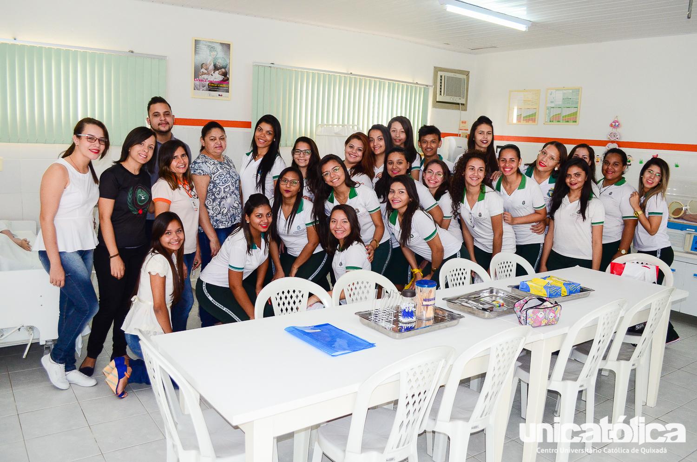 Alunos da Escola Profissional de Quixadá visitam a UNICATÓLICA