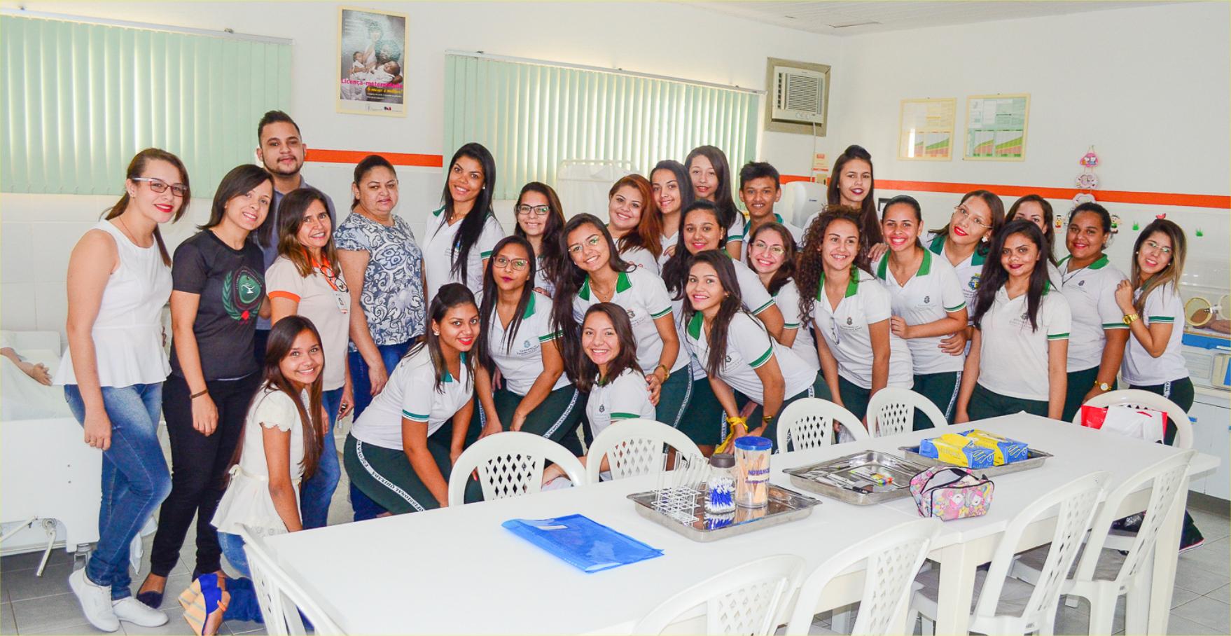 Visita dos alunos da Escola Profissional