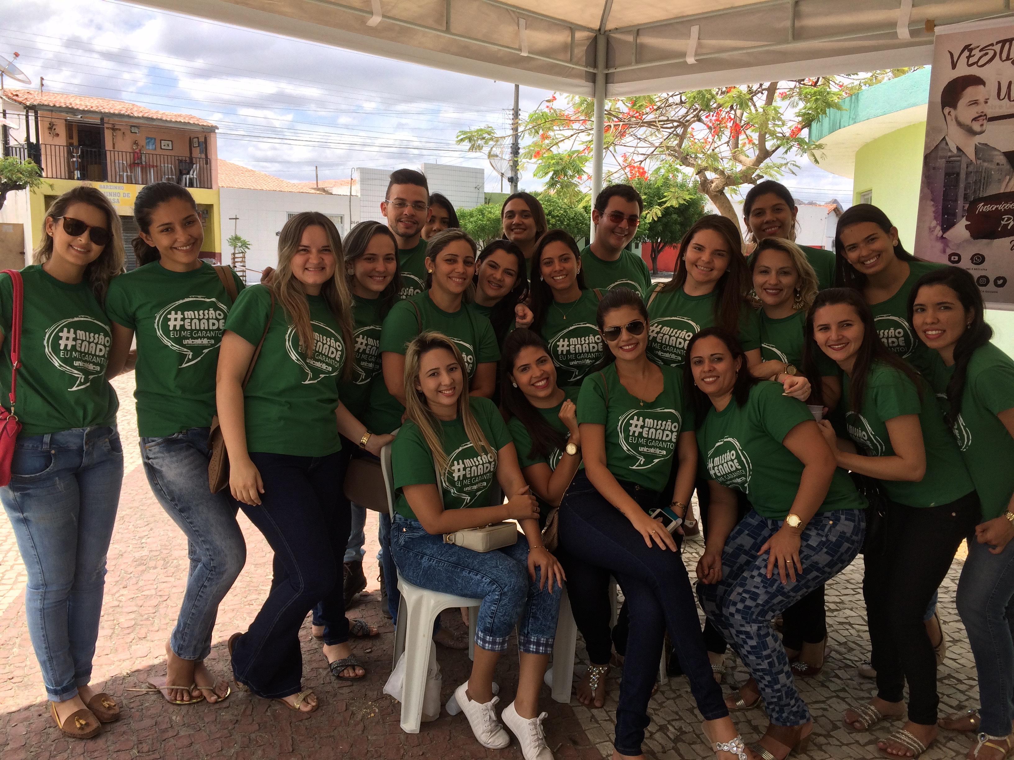 Acadêmicos de Enfermagem participam do ENADE 2016