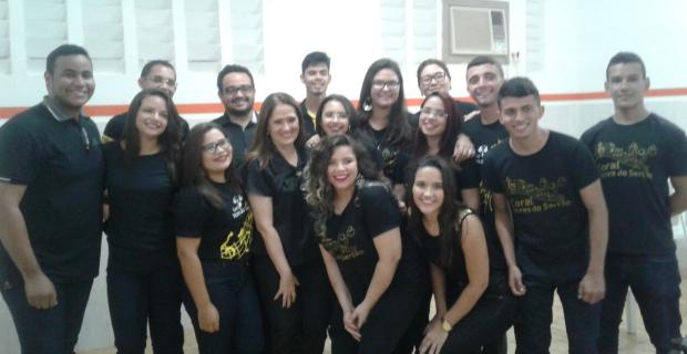 Coral Vozes do Sertão realiza sua 1ª apresentação