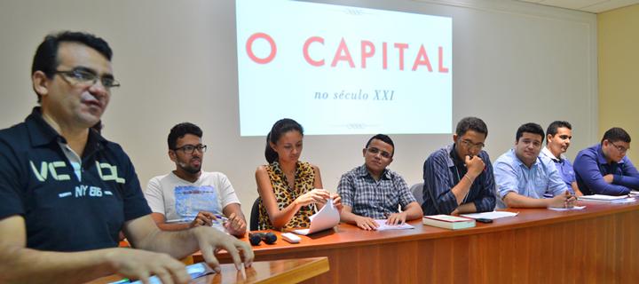 Curso realiza debate sobre o Capital no Século XXI