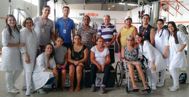 Ação para pacientes com AVC e Paralisia Cerebral