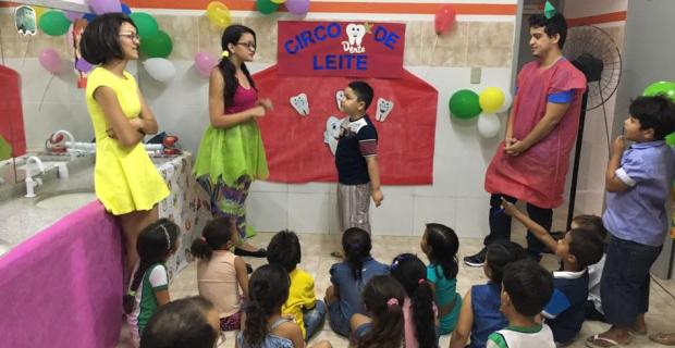 Curso de Odontologia participa do Expressão Criança