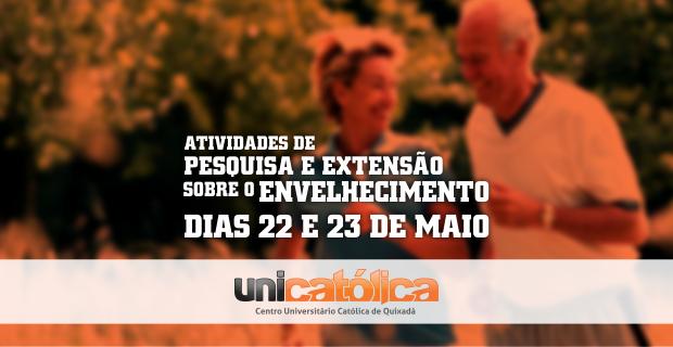 UNICATÓLICA realizará atividades de pesquisa e extensão sobre o envelhecimento