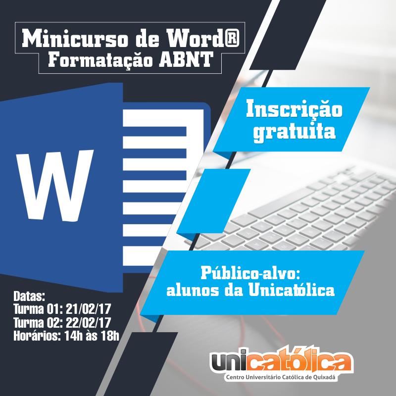 Formatação de Trabalhos Acadêmicos no Microsoft Word