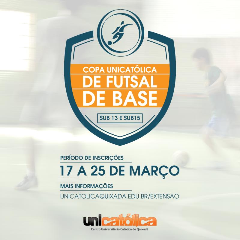 I Copa UNICATÓLICA de Futebol de Base
