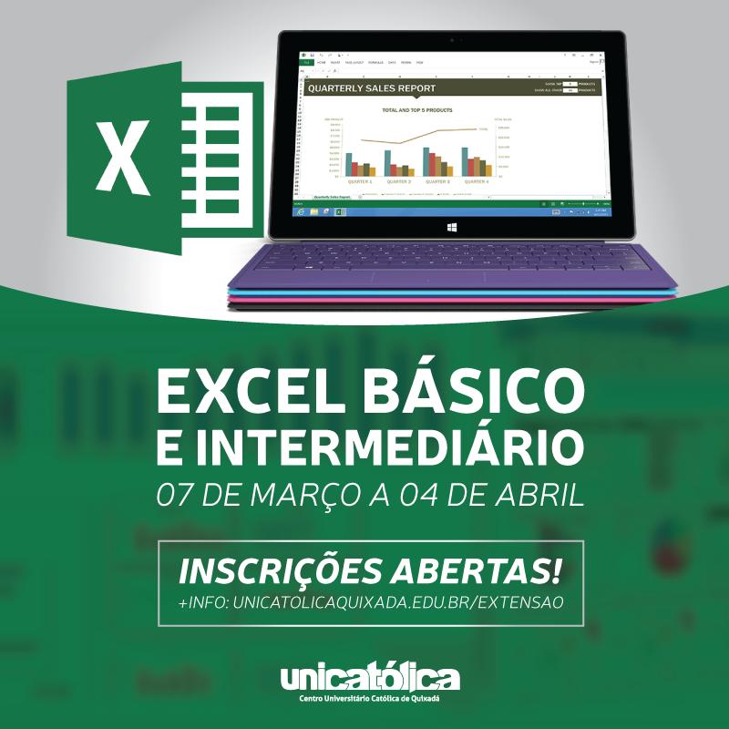 Curso de Excel Básico e Intermediário